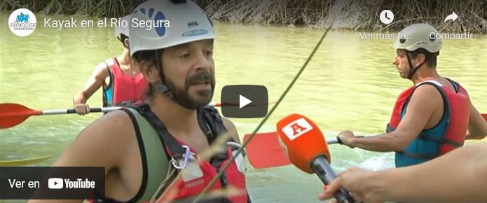 Kayak en el Río Segura